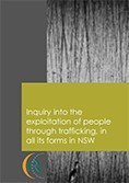 Inquiry into the exploitation of people through trafficking, in all its forms in NSW